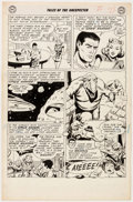 Original Comic Art:Panel Pages, Bob Brown Tales of the Unexpected #53 Story Page 2 OriginalArt (DC Comics, 1960)....