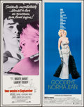 """Movie Posters:Foreign, Two Weeks in September & Other Lot (Paramount, 1967). Inserts (2) (14"""" X 36""""). Foreign.. ... (Total: 2 Items)"""