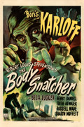 """Movie Posters:Horror, The Body Snatcher (RKO, 1945). One Sheet (27"""" X 41..."""