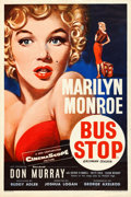 "Movie Posters:Drama, Bus Stop (20th Century Fox, 1956). British Double Crown (20"" X 30"")Tom Chantrell Artwork.. ..."