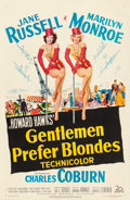 "Movie Posters:Musical, Gentlemen Prefer Blondes (20th Century Fox, 1953). One Sheet (27"" X 41"").. ..."