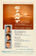 "Movie Posters:Drama, Giant (Warner Brothers, 1956). One Sheet (27"" X 41.5).. ..."