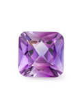 Gems:Faceted, Gemstone: Amethyst - 4.92 Cts.. Artigas, Artigas Department. Uruguay. 10.88 x 10.71 x 7.2 mm. ...