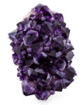 "Minerals:Cabinet Specimens, Amethyst ""Flower"". Artigas, Artigas Department. Uruguay. 5.07 x3.36 x 2.66 inches (12.88 x 8.53 x 6.75 cm). ..."