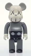 General Americana, KAWS (American, b. 1974). Companion BE@RBRICK 400%, 2002.Painted cast vinyl. 10-3/4 x 5 x 3 inches (27.3 x 12.7 x 7.6 c...