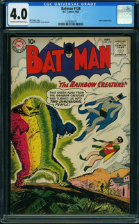 Batman #134 (DC, 1960) CGC VG 4.0 CREAM TO OFF-WHITE pages