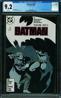 Batman #407 (DC, 1987) CGC NM- 9.2 WHITE pages