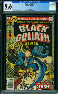 Black Goliath #4 (Marvel, 1976) CGC NM+ 9.6 OFF-WHITE TO WHITE pages