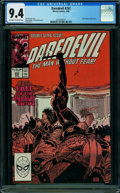 Modern Age (1980-Present):Superhero, Daredevil #252 (Marvel, 1988) CGC NM 9.4 OFF-WHITE TO WHITE pages.