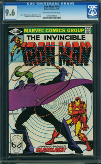 Iron Man #146 (Marvel, 1981) CGC NM+ 9.6 OFF-WHITE TO WHITE pages