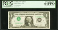 Error Notes:Inverted Third Printings, Fr. 1908-C $1 1974 Federal Reserve Note. PCGS Very Choice New64PPQ.. ...