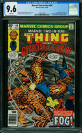 Modern Age (1980-Present):Superhero, Marvel Two-In-One #69 (Marvel, 1980) CGC NM+ 9.6 WHITE pages.
