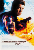 """Movie Posters:James Bond, The World is Not Enough (MGM, 1999). One Sheet (27"""" X 40"""") SS & Dutch Poster (27"""" X 39). James Bond.. ... (Total: 2 Items)"""