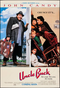 "Uncle Buck & Other Lot (Universal, 1989). One Sheets (2) (27"" X 40"") DS Advance. Comedy. ... (Total: 2 Ite..."