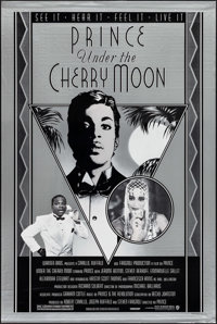 """Under the Cherry Moon (Warner Brothers, 1986). One Sheet (27"""" X 41""""). Rock and Roll"""