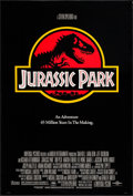 "Movie Posters:Science Fiction, Jurassic Park (Universal, 1993) Rolled, Very Fine-. One Sheet (26.75"" X 39.5""). Chip Kidd and Sandy Collora Artwork. Science..."
