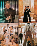 "Movie Posters:James Bond, The Spy Who Loved Me (United Artists, 1977). British Deluxe JumboLobby Cards (11) (16"" X 20""). James Bond.. ... (Total: 11 Items)"
