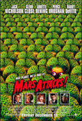 "Movie Posters:Science Fiction, Mars Attacks! (Warner Brothers, 1996). One Sheet (27"" X 40"") DS Advance. Science Fiction.. ..."