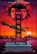 """Movie Posters:Science Fiction, Star Trek IV: The Voyage Home & Other Lot (Paramount, 1987). One Sheet (27"""" X 41"""") & Video One Sheet (27"""" X 41""""). Science Fi... (Total: 2 Items)"""
