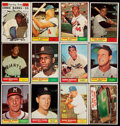 Baseball Cards:Lots, 1961 Topps Baseball Collection (57) With Many Stars. ...