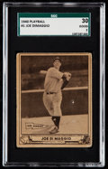 Baseball Cards:Singles (1940-1949), 1940 Play Ball Joe DiMaggio #1 SGC 30 Good 2. . ...