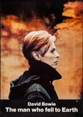 """Movie Posters:Science Fiction, The Man Who Fell to Earth (Cinema 5, 1976). Poster (29.5"""" X41.75""""). Science Fiction.. ..."""
