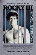 "Movie Posters:Sports, Rocky III (United Artists, 1982). One Sheet (26"" X 40"") Advance Mylar. Sports.. ..."