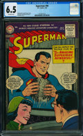 Golden Age (1938-1955):Superhero, Superman #98 (DC, 1955) CGC FN+ 6.5 OFF-WHITE pages.
