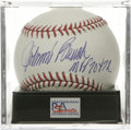 "Autographs:Baseballs, Johnny Bench ""MVP 70 & 72"" Single Signed Baseball, PSA Mint+9.5. Hall of Fame Reds hero Johnny Bench alludes to his pair o..."