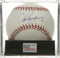 "Autographs:Baseballs, Alex Rodriguez ""#13"" Single Signed Baseball, PSA Gem Mint 10.Blessed with ridiculous talent, the Yankees slugger Alex Rodr..."