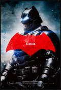 "Movie Posters:Action, Batman V Superman: Dawn of Justice (Warner Brothers, 2016). Mini Poster Set of 3 (11.5"" X 17"") Advance. Action.. ... (Total: 3 Items)"