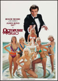 "Movie Posters:James Bond, Octopussy (Larry Green Productions, 1983). Commercial Poster (20"" X28""). James Bond.. ..."