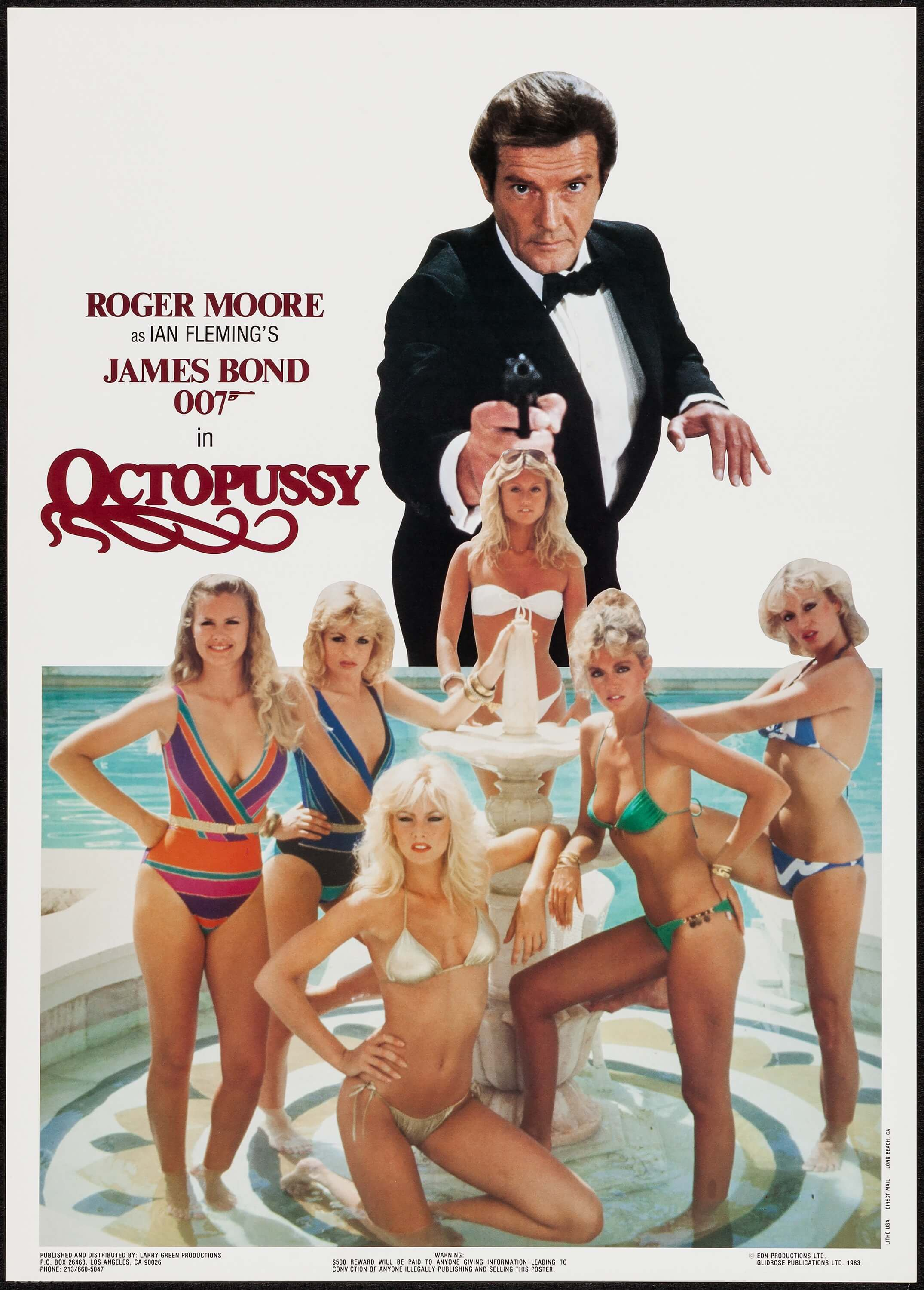44996330d860f Octopussy (Larry Green Productions, 1983). Commercial Poster (20