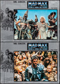 """Movie Posters:Science Fiction, Mad Max Beyond Thunderdome (Warner Brothers, 1985). Italian Photobustas (2) (18"""" X 26""""). Science Fiction.. ... (Total: 2 Items)"""