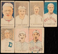 Baseball Cards:Sets, Rare 1921 W9316 Baseball Near Set (7/10). ...