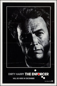 "The Enforcer (Warner Brothers, 1977). One Sheet (27"" X 41"") Teaser. Crime"
