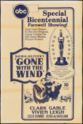 "Movie Posters:Academy Award Winners, Gone with the Wind (ABC, R-1976). One Sheet (27"" X 41""). AcademyAward Winners.. ..."