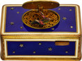 Timepieces:Musical - Mechanical , Karl Griesbaum Fine Gilt & Enamel Singing Bird Box. ...