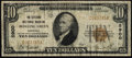 National Bank Notes:Kentucky, Bowling Green, KY - $10 1929 Ty. 1 The Citizens NB Ch. # 5900. ...