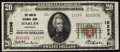 National Bank Notes:Kentucky, Harlan, KY - $20 1929 Ty. 2 The Harlan NB Ch. # 12295. ...