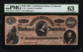 "Confederate Notes:1864 Issues, ""Havana"" CT65/491 Counterfeit $100 1864.. ..."