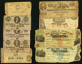 Confederate Notes:Group Lots, Confederate and Southern States Paper Items and More.. ... (Total:38 items)