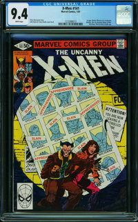X-Men #141 (Marvel, 1981) CGC NM 9.4 WHITE pages