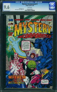 Mystery Incorporated #1 (Image, 1993) CGC NM+ 9.6 White pages