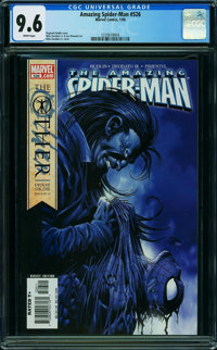 The Amazing Spider-Man #526 (Marvel, 2006) CGC NM+ 9.6 WHITE pages