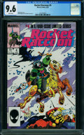 Modern Age (1980-Present):Superhero, Rocket Raccoon #4 (Marvel, 1985) CGC NM+ 9.6 WHITE pages.