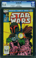 Modern Age (1980-Present):Science Fiction, Star Wars #68 (Marvel, 1983) CGC NM 9.4 WHITE pages.