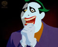 Animation Art:Production Cel, Batman: the Animated Series The Joker Production Cel (WarnerBrothers, 1993). ...