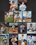 Baseball Collectibles:Photos, Brooklyn/Los Angeles Dodgers Greats Signed Photograph Collection(13) - Includes Reese, Drysdale, Murray, & More. . ...