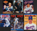 Baseball Collectibles:Publications, Nolan Ryan Signed Magazine Collection (6). . ...